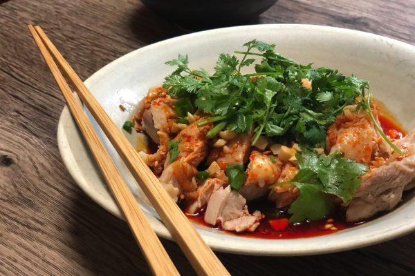 """日本でも人気爆発!!四川料理""""口水鶏(よだれ鶏)""""本格レシピ!!"""