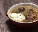 """酸味が美味しい!!ドイツ家庭の定番スープ!!""""Sauerkraut suppe(ザワークラウトのスープ)""""!!"""