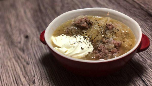 【本格ドイツ料理レシピ】ザワークラウトのスープ!酸味が美味しいドイツ家庭の定番!!