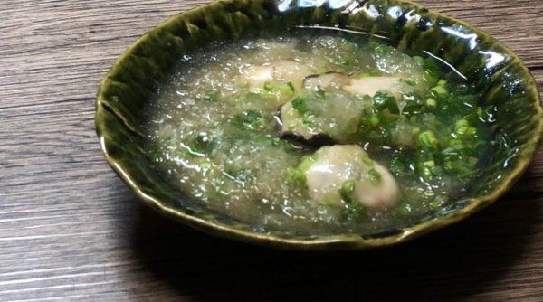 """【牡蠣料理】身体の温まる冬の味覚""""牡蠣と大根おろしの葛煮あんかけ"""""""